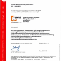ISO 19600 CM Compliance Management Sersa Group AG