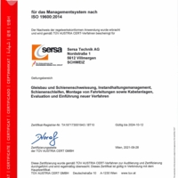ISO 19600 CM Compliance Management Sersa Technik AG